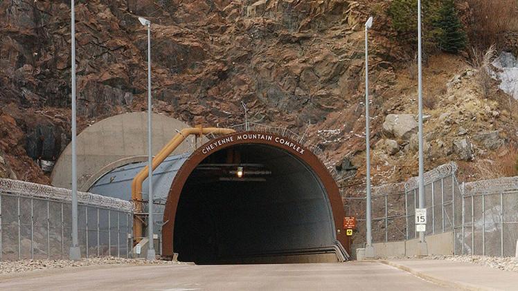 El Mando Norteamericano de Defensa Aeroespacial se traslada a un búnker de la Guerra Fría