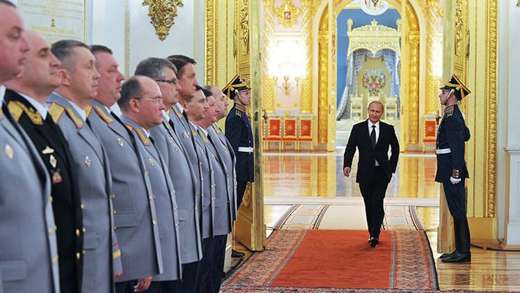 Putin: Rusia reforzará su seguridad para responder a las nuevas amenazas