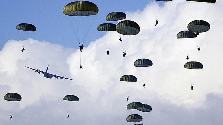 EE.UU. realiza ejercicios militares cerca de la frontera con Rusia