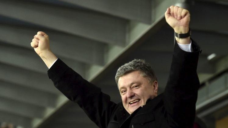 """""""¡El fascismo no pasará!"""": la bienvenida de Odesa a Poroshenko"""