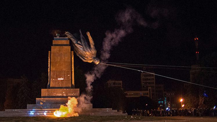 Rusia: Las leyes de Ucrania que prohíben la ideología comunista contravien las normas de la ONU