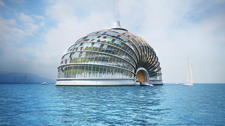 """El Arca de Noe"", un hotel ruso capaz de sobrevivir a un desastre natural"