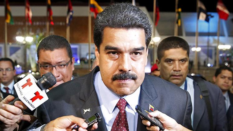 """Maduro tras encuentro con Obama: Podría """"abrirse proceso de negociaciones con EE.UU."""""""