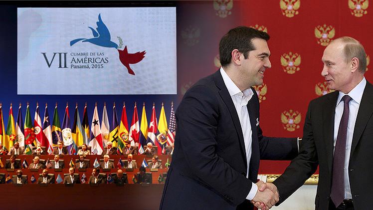 La Cumbre de las Américas hace historia, Rusia y Grecia alumbran una 'primavera' diplomática