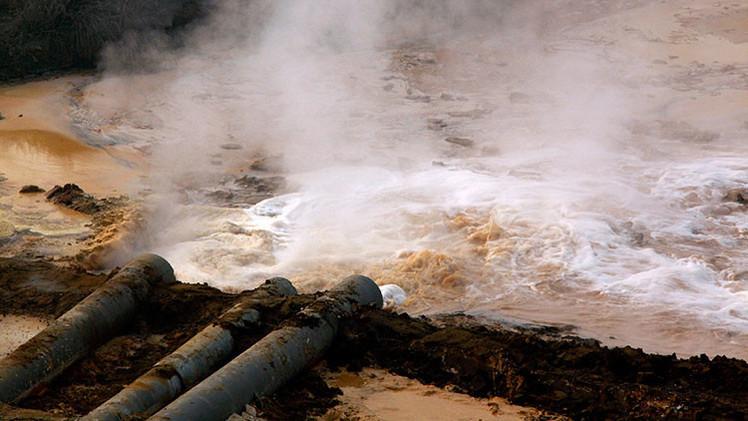 Video, fotos: ¿Cómo se originó el lago más tóxico del mundo?
