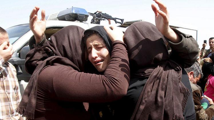 Combatientes del Estado Islámico violan a una niña de 9 años y la dejan embarazada