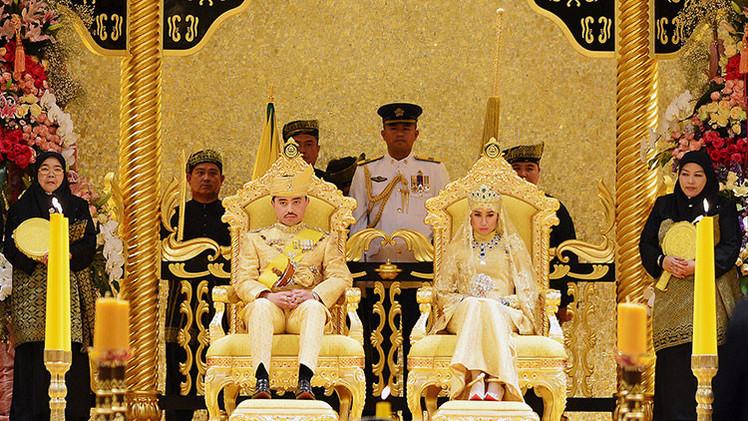 Fotos: Brunéi celebra una opulenta boda principesca