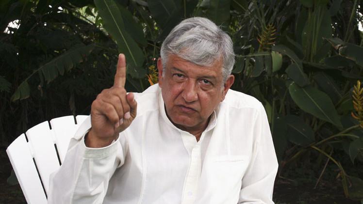 """López Obrador: """"Peña Nieto hace el trabajo sucio a EE.UU."""""""