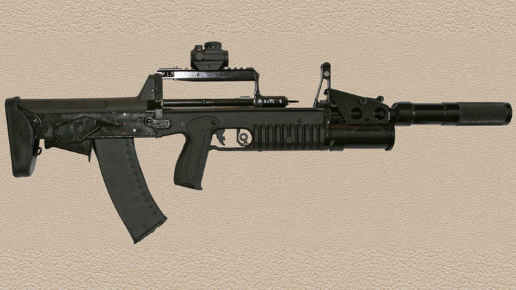 Rusia desarrolla un revolucionario fusil de asalto de plástico