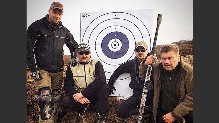 Francotiradores rusos baten el récord estadounidense en distancia de impacto