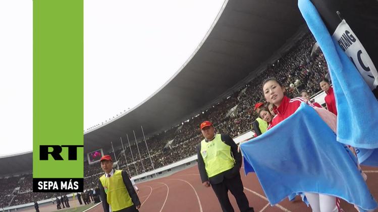 Video: Siéntase como un corredor del maratón anual de Corea del Norte