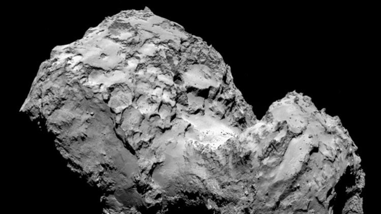 Revelan el principal secreto del cometa 67P/Churiúmov-Guerasimenko