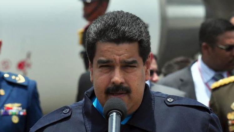 """Maduro advierte estar """"preparado para dar la batalla"""" contra España"""