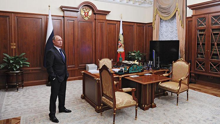 ¿Cuánto ganó Vladímir Putin en 2014?