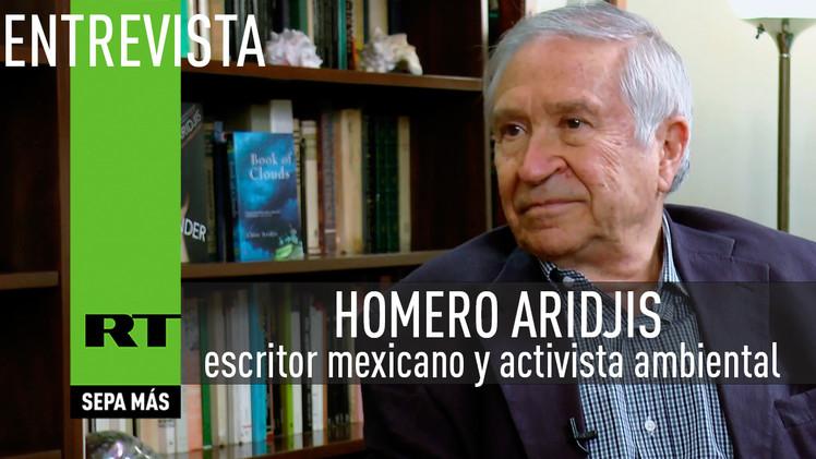 Entrevista con Homero Aridjis, escritor mexicano y activista ambiental