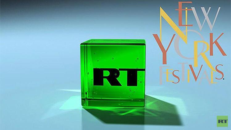 RT gana cuatro premios en los prestigiosos New York Festivals