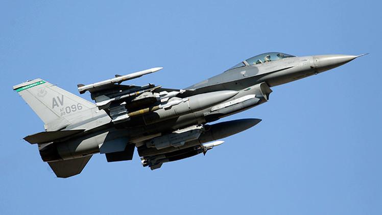 Caza polivalente F-16 de la OTAN