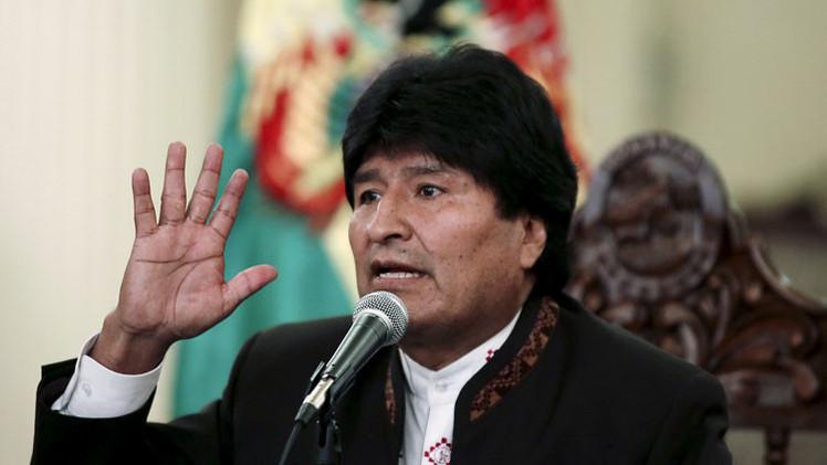 """Evo Morales: """"EE.UU. trata a los países de América Latina como si fueran sus esclavos"""""""