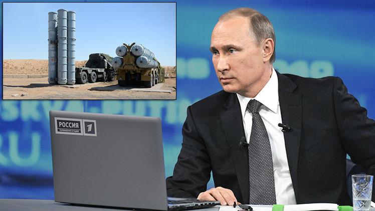 """Putin sobre los S-300 para Irán: """"Son caros, ¿por qué debemos perder el dinero?"""""""
