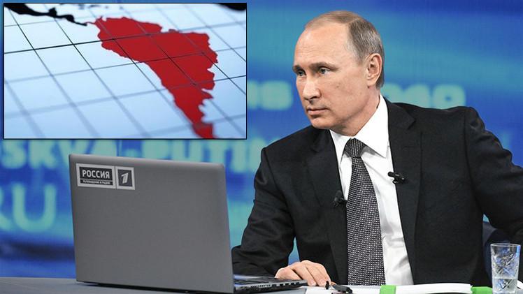 """Putin: """"No tenemos ambiciones imperiales, solo vivir dignamente como Latinoamérica"""""""