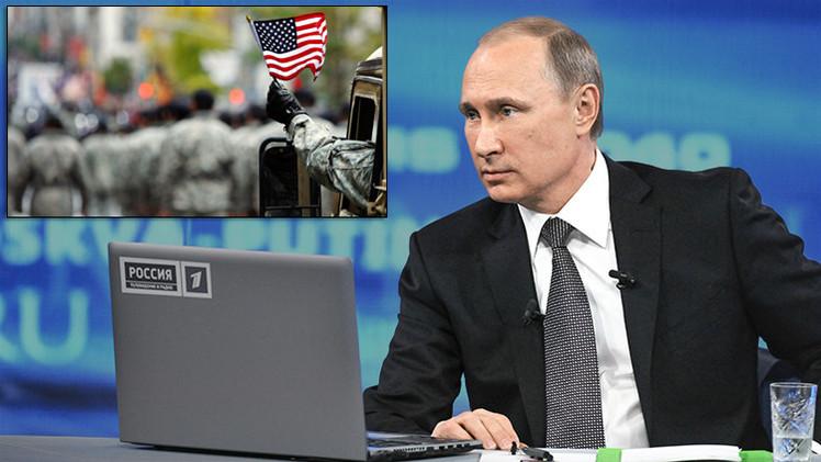 """Putin: """"EE.UU. no quiere aliados, sino vasallos"""""""
