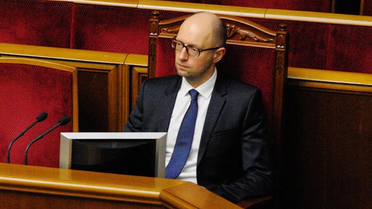 El primer ministro de Ucrania cree que su país ganó la Segunda Guerra Mundial