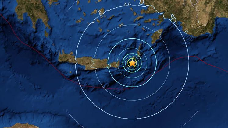 Se registra un sismo de magnitud 6,1 en Grecia