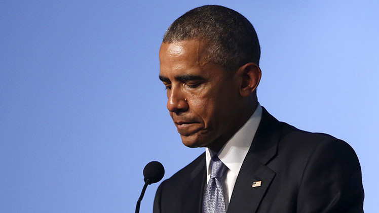 El presedente de EE.UU., Barack Obama