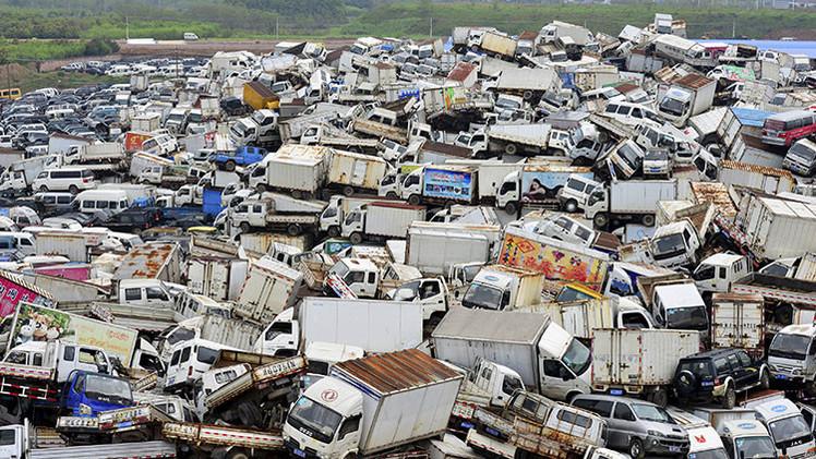 Vea las estremecedoras imágenes que muestran las consecuencias de la vida humana sobre la Tierra