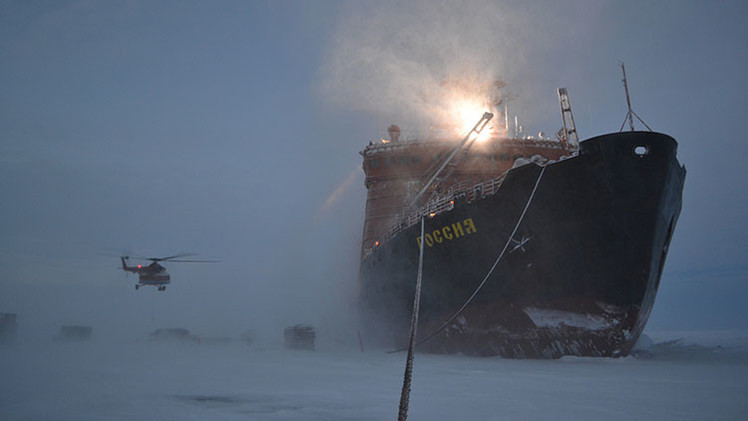 Rusia construirá un buque universal único para su flota del Ártico