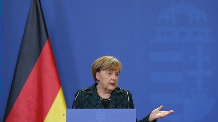 Merkel se muestra dispuesta a crear una zona de libre comercio con Rusia
