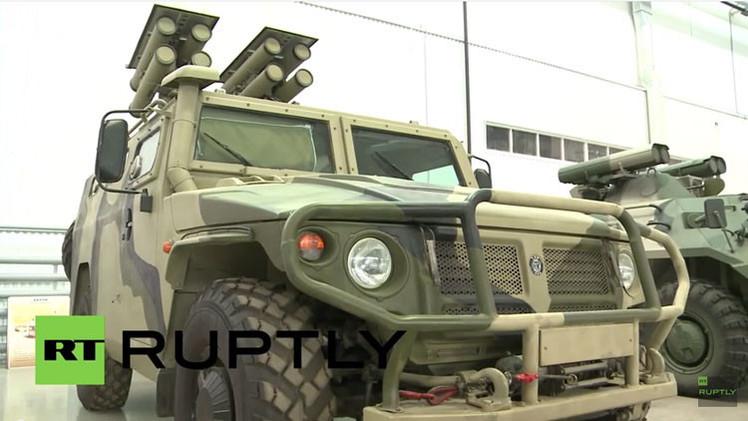 Video: Nuevo sistema antitanque ruso de última generación en todo su esplendor