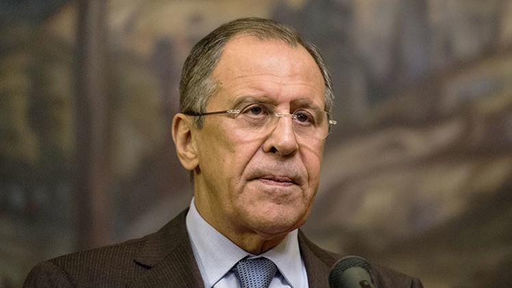 Siga en directo la entrevista del canciller ruso Serguéi Lavrov con los medios rusos