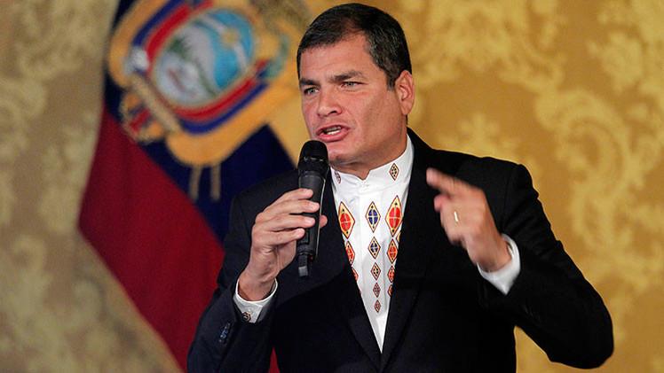 """Correa: """"América Latina no permitirá la intervención de EE.UU. en Venezuela"""""""