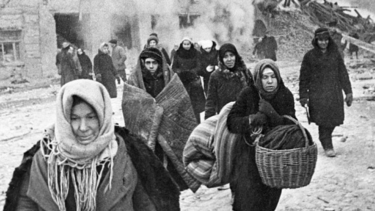 """""""Río lleno de cadáveres era nuestra realidad"""": Sobrevivientes recuerdan el asedio de Leningrado"""