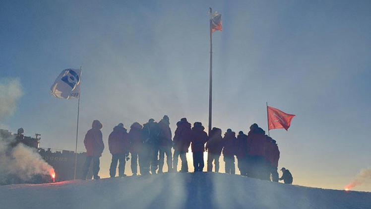 Rusia despliega en el Ártico la estación científica Polo Norte 2015