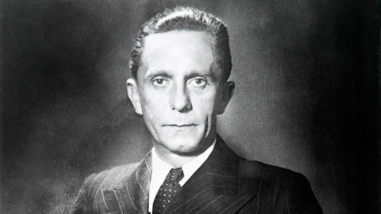 Herederos de Joseph Goebbels demandan a una editorial por derechos del autor