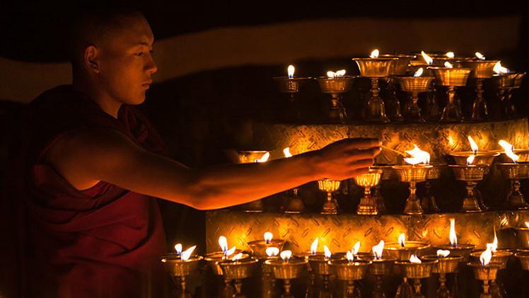 Fotos: El asentamiento de monjes budistas más grande del mundo