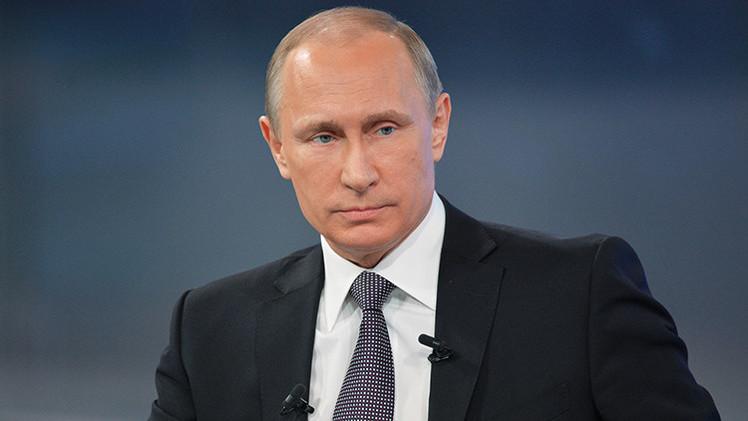 "Putin: ""Occidente ama a Rusia solo cuando necesita ayuda humanitaria"""