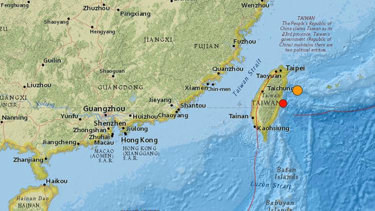 El segundo en las últimas horas: un fuerte terremoto vuelve a sacudir Taiwán