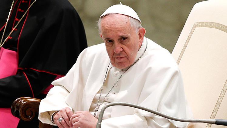 El papa Francisco condena las sanciones contra Rusia