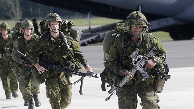 Arrancan en Estonia las maniobras de la OTAN con uso de un sistema láser