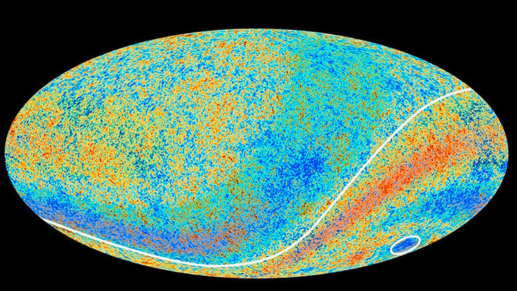 Hallan en el espacio un vacío gigantesco donde 'faltan' alrededor de 10.000 galaxias