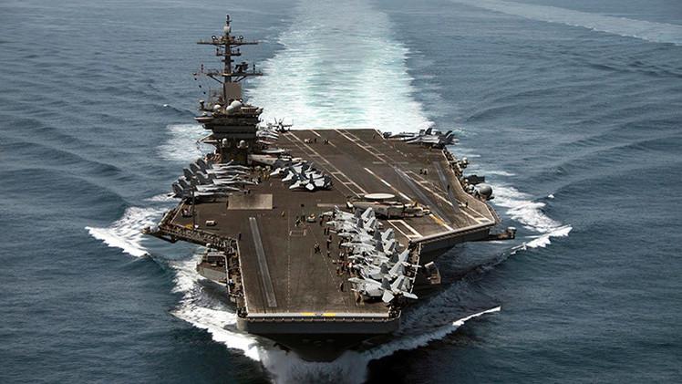 Video: La Casa Blanca confirma haber enviado un portaaviones a las aguas yemeníes