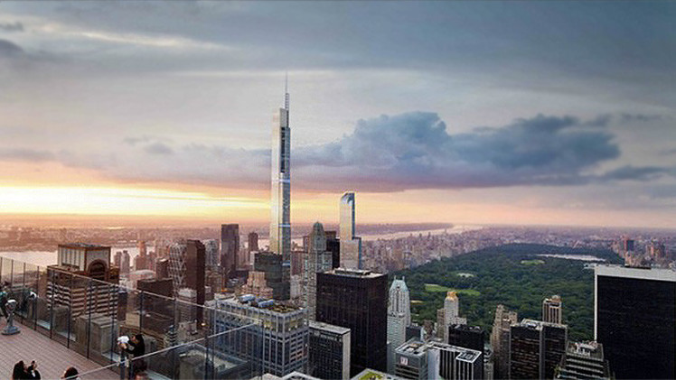 fotos as ser el edificio residencial ms alto del mundo que construir nueva york