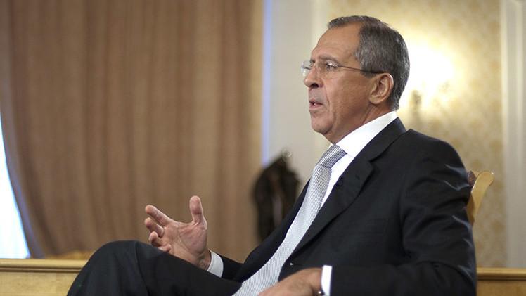 Maratónica entrevista de Serguéi Lavrov con medios rusos