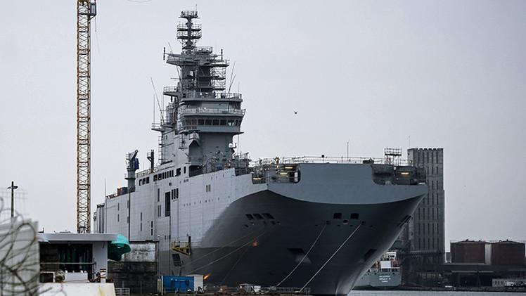 """Hollande: """"Es normal devolver el dinero por los Mistral a Rusia"""""""