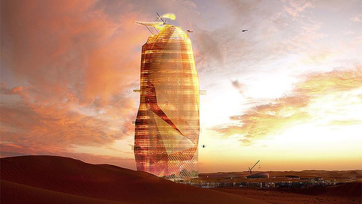 Fotos: Una 'ciudad vertical' crecerá en pleno desierto del Sáhara
