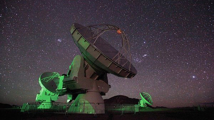 Las microondas confirmaron la naturaleza cósmica de las 'señales extraterrestres'