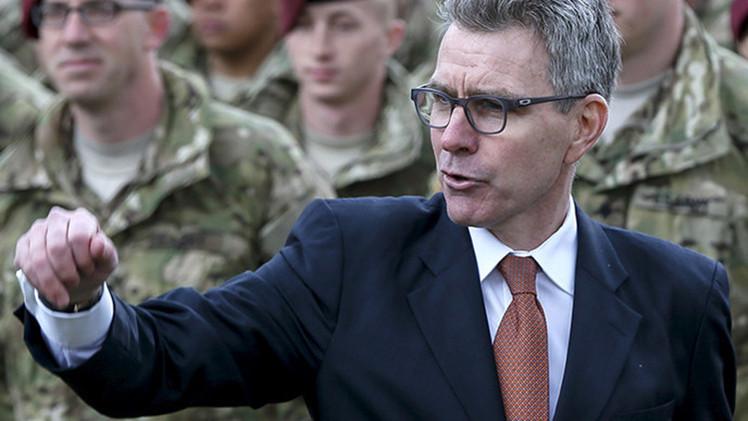 El embajador de EE.UU. en Kiev publica fotos falsas de un sistema antiaéreo acusando a Rusia